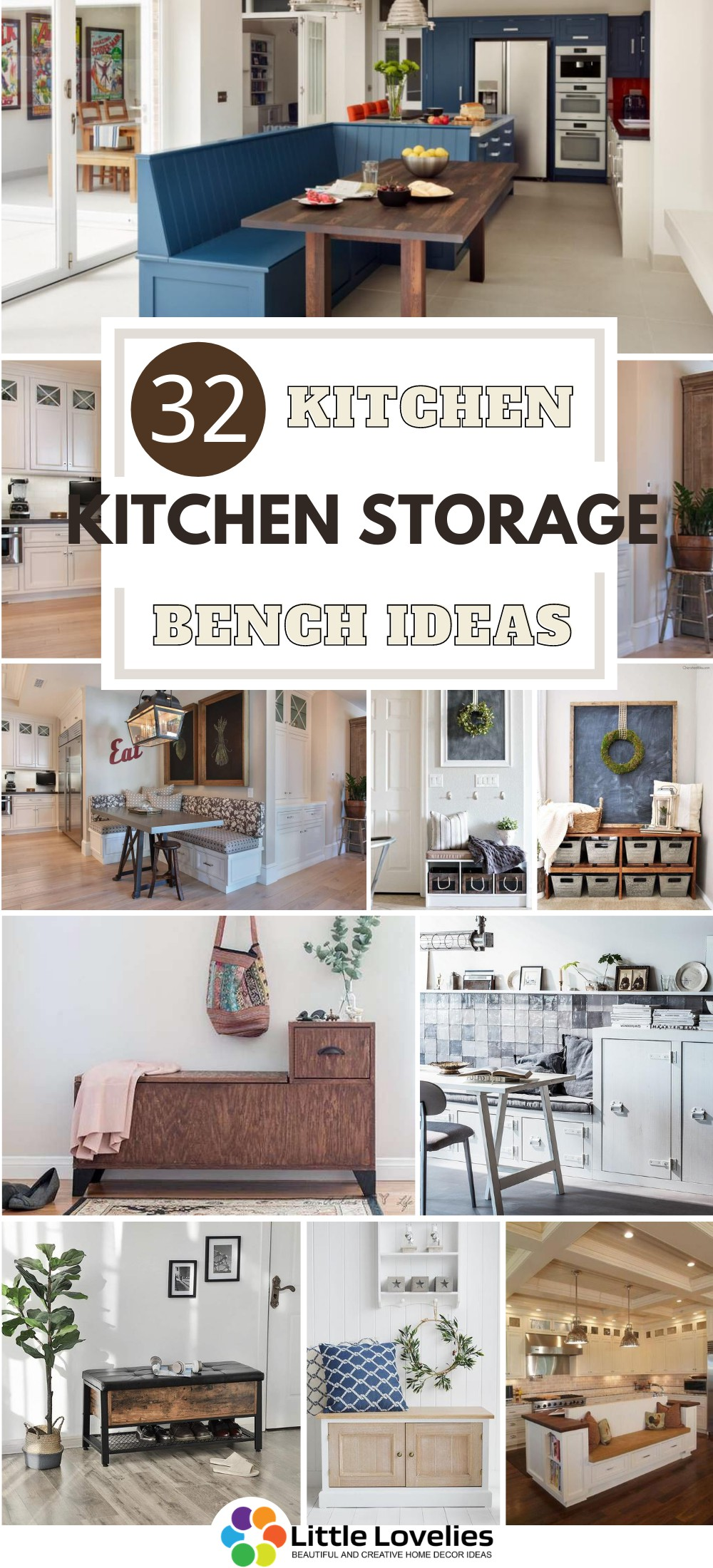 Best Kitchen Storage Bench Ideas