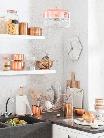 Copper Kitchen Decor Ideas