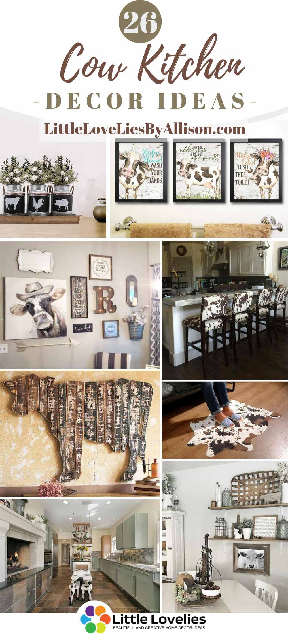 26 Cow Kitchen Decor Ideas A Themed