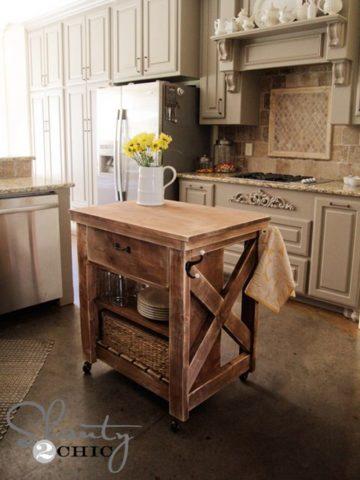 DIY Kitchen Island Ideas