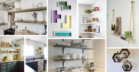 DIY Kitchen Shelves Ideas-little