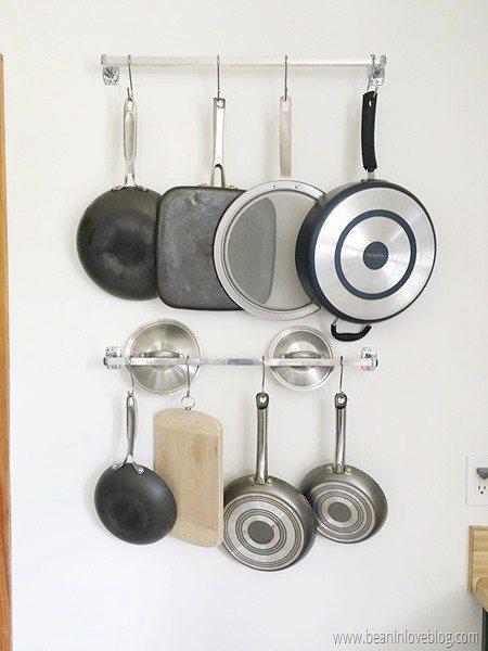 DIY Pot Rack Ideas