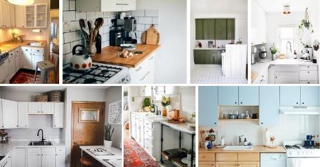 DIY Rental Kitchen Makeover Idea