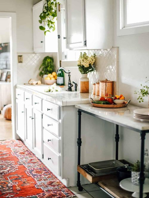 DIY Rental Kitchen Makeover Ideas