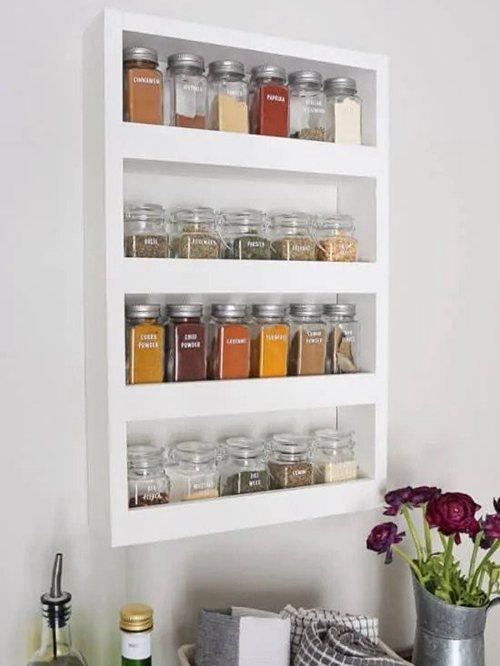 DIY Spice Rack Ideas