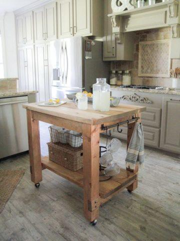 Diy Kitchen Cart Ideas
