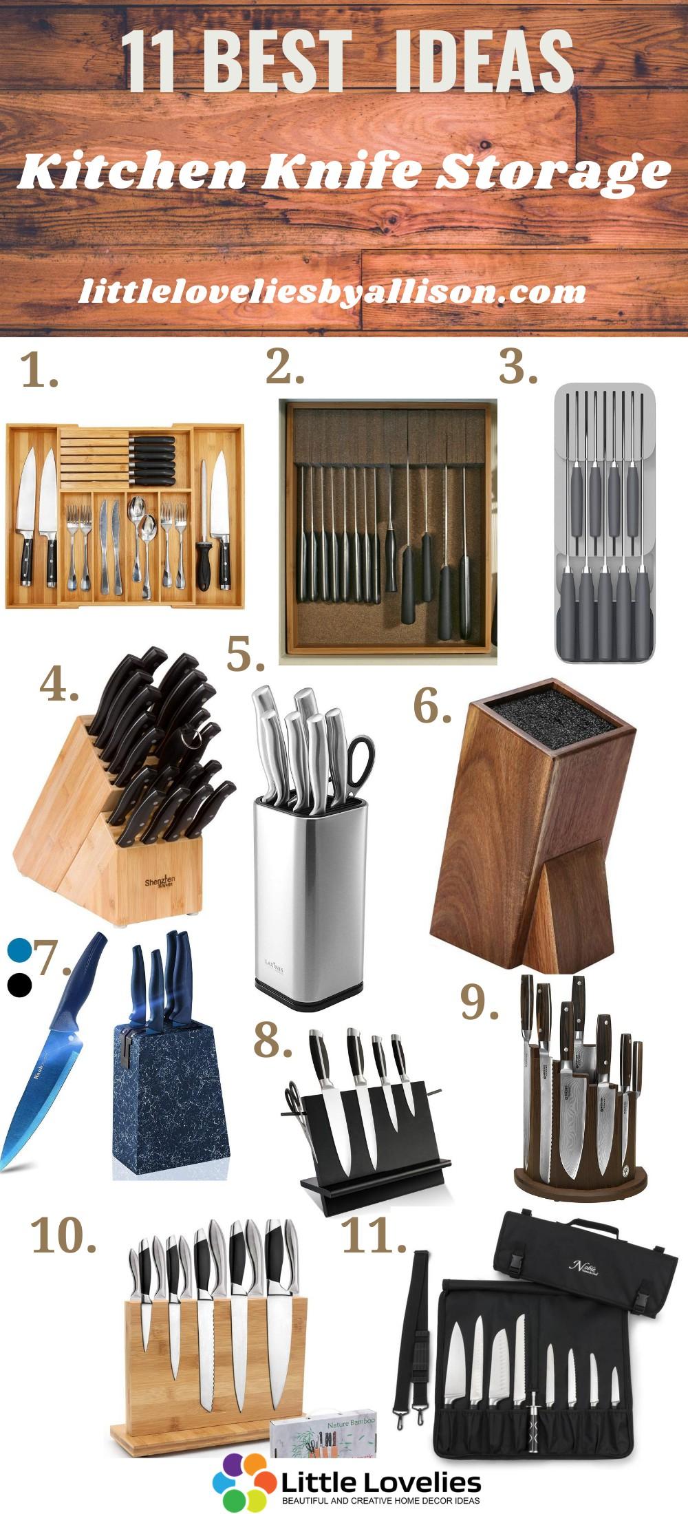 Favorite Knife Storage Tray