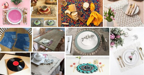 Featured DIY Placemats Ideas
