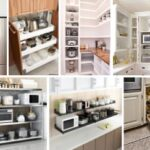 34 Best Kitchen Appliance Storage Ideas
