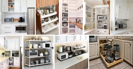 Kitchen Appliance Storage Ideas