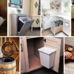28 Kitchen Garbage Can Storage Ideas That You Need To Check Out
