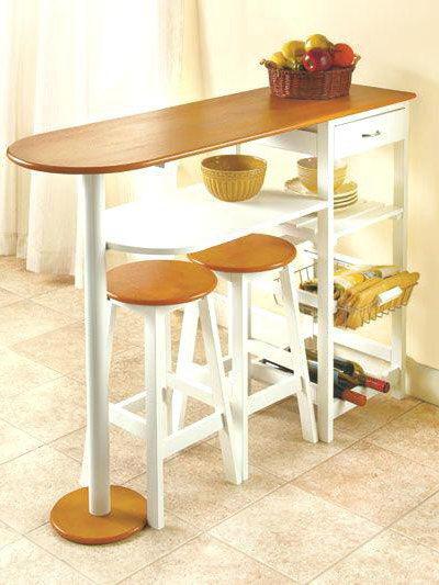 Kitchen Table With Storage Ideas