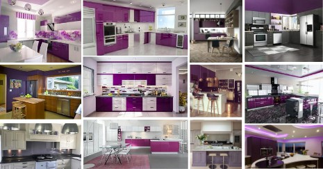 Purple Kitchen Decor Ideas