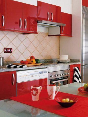 Red Kitchen Decor Ideas