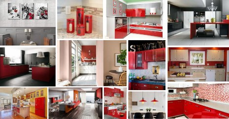 Red Kitchen Decor Ideas