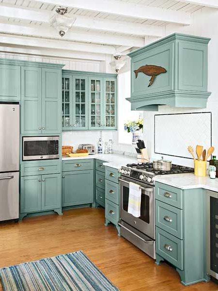 Teal Kitchen Decor Ideas