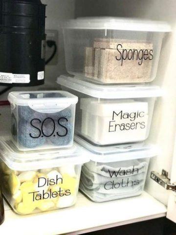 Under Kitchen Sink Storage Ideas