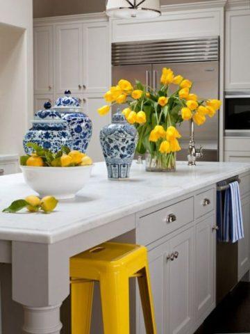 Yellow Kitchen Decor Ideas