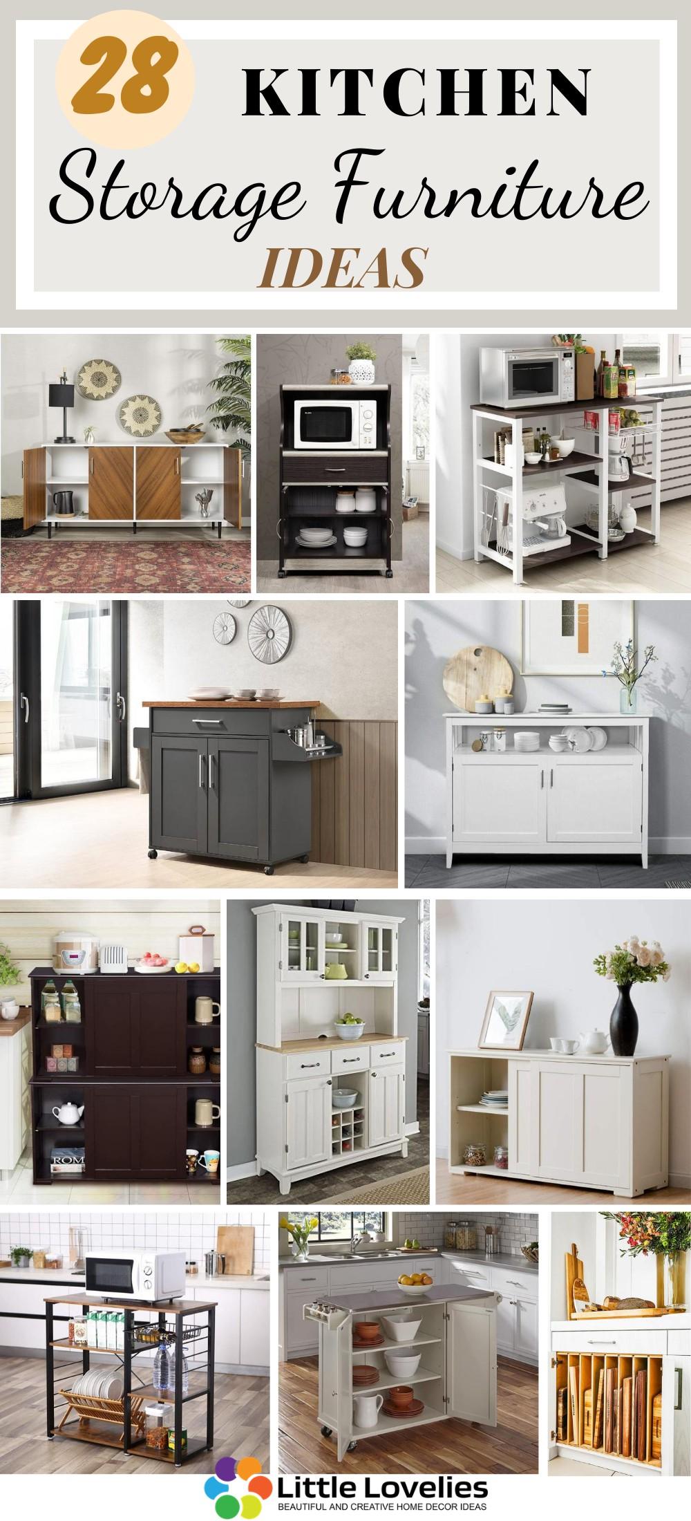 best Kitchen Storage Furniture Ideas