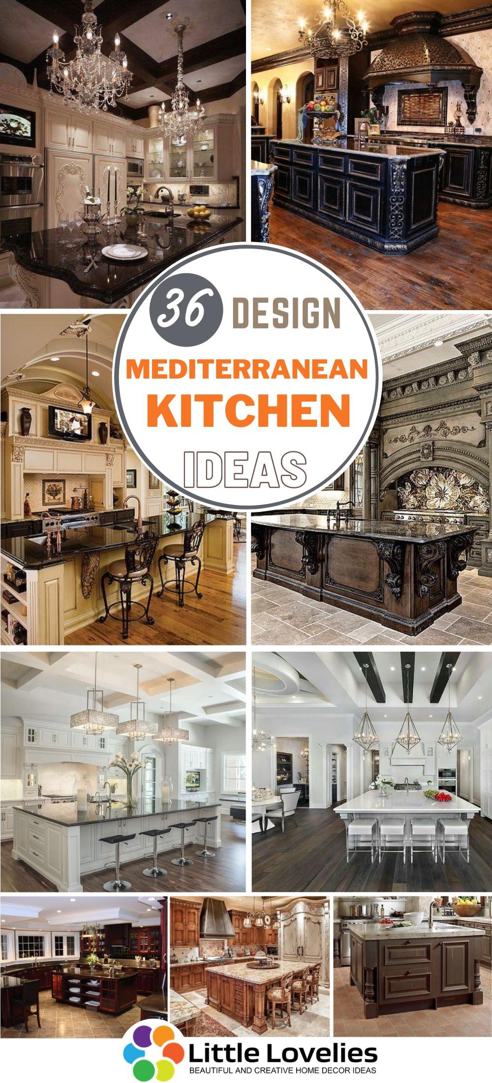 best Mediterranean Kitchen Design