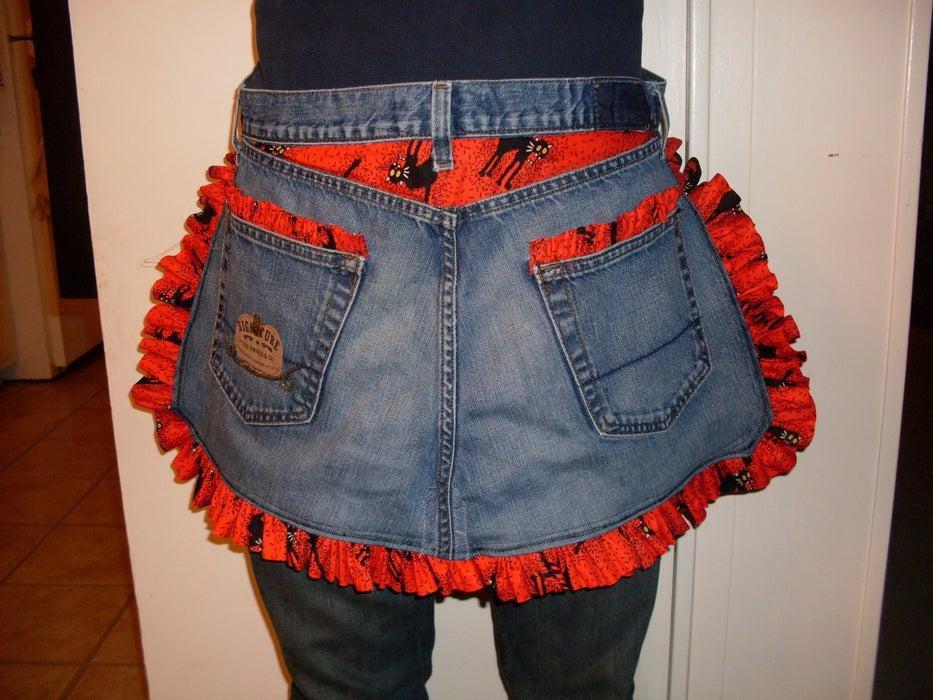 1. DIY Jeans Apron