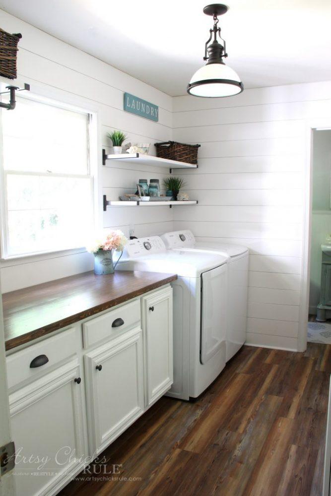 1. DIY Wood Countertop