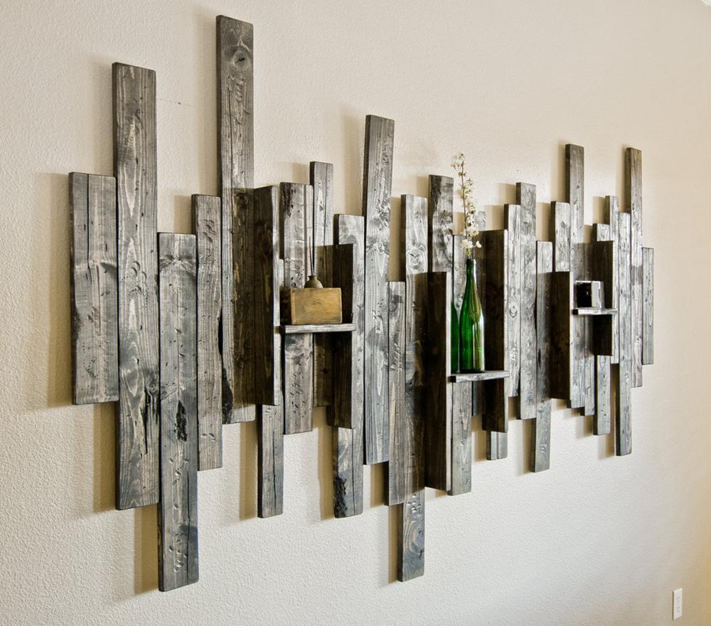 1. Rustic Wall Art