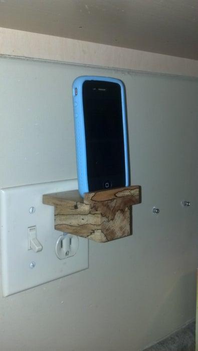 1. Simple iPhone Dock
