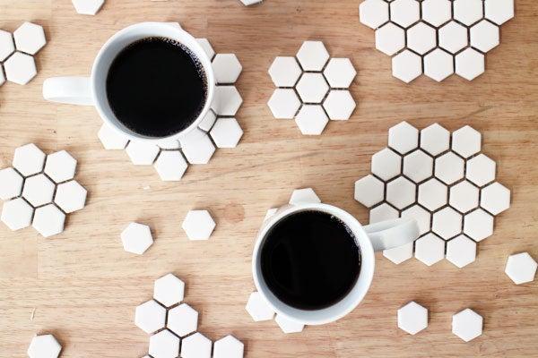 10. 5-Minutes DIY Coasters