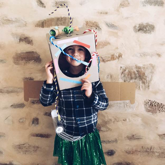 10. DIY Cardboard Space Helmet