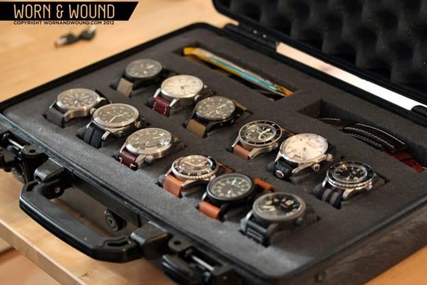 10. DIY Pelican Watch Case