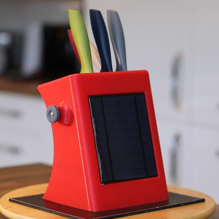 10. Ultimate DIY Knife Block