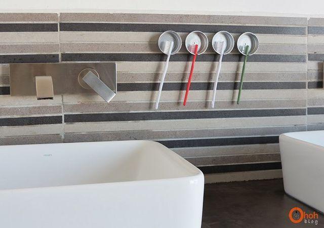 11. DIY Toothbrush Holder With Bottle Cap