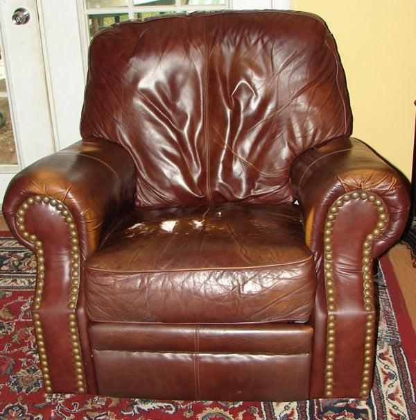 11. How to Reupholster a Recliner Seat