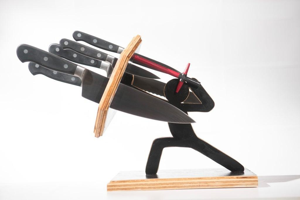 11. The Force Awakens Knife Block DIY