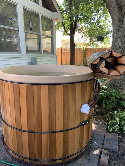 12. DIY Northern Cedar Hot Tub