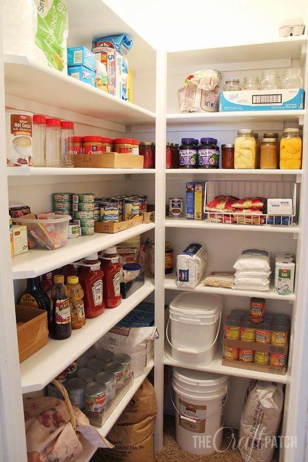 12. How To Build Pantry Shelves