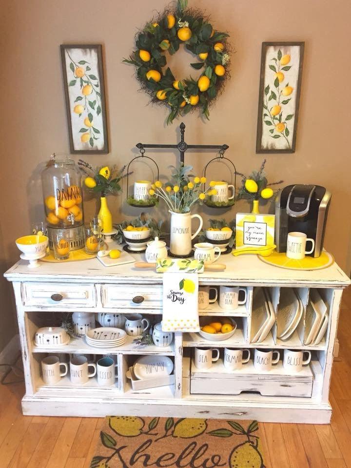 12. Kitchen Cabinet With Lemon