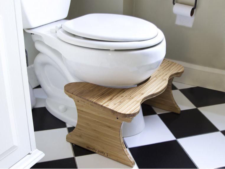 12. Sleek Squatty Potty Design Idea