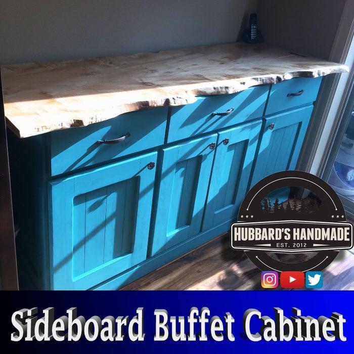 13. DIY Buffet Cabinet Sideboard