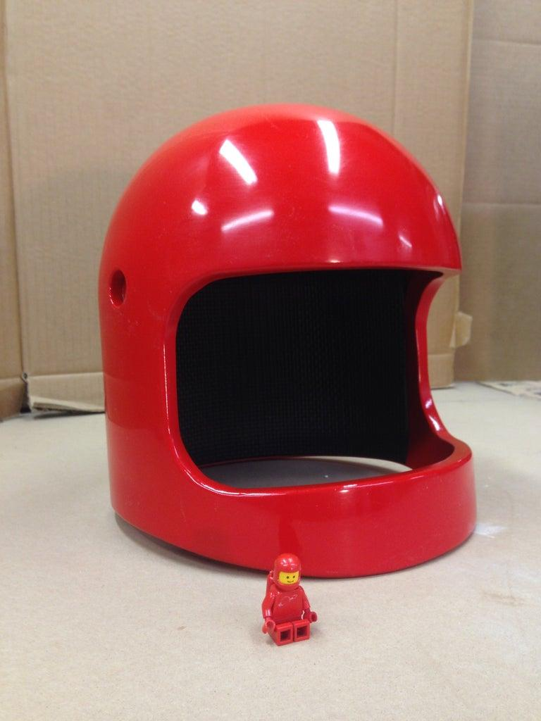 13. DIY Lego Space Helmet
