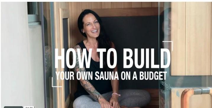 13. How To Build A Sauna On A Budget