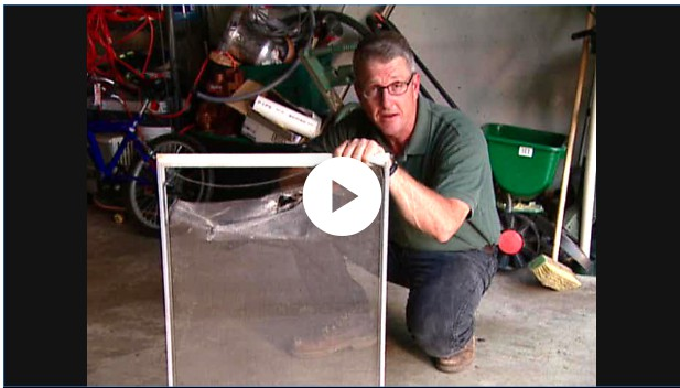 13. Repairing Your Window Screen
