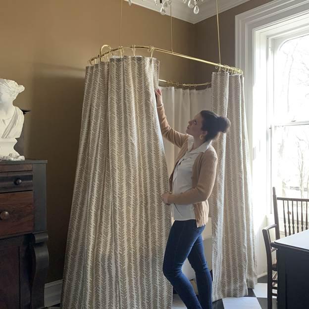 15. DIY Custom Shower Curtain