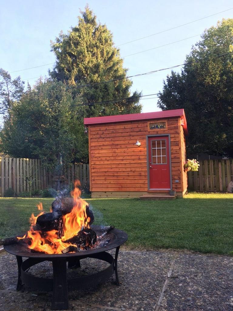15. DIY Finnish Sauna