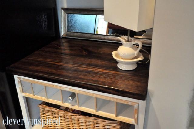15. DIY Wooden Countertop For $10