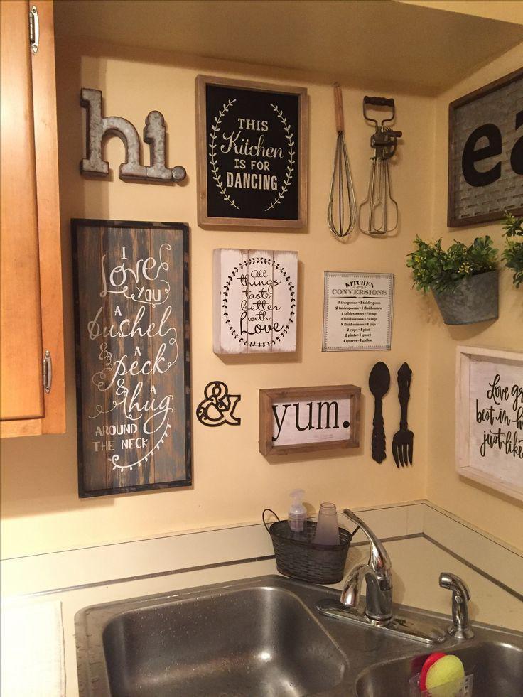 15. Kitchen Backsplash Wall Art