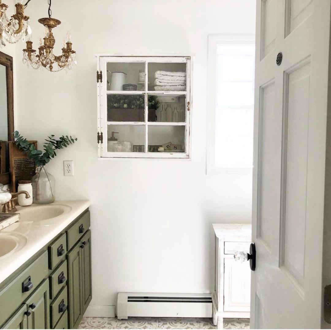 16. Bathroom Wall Cabinet DIY
