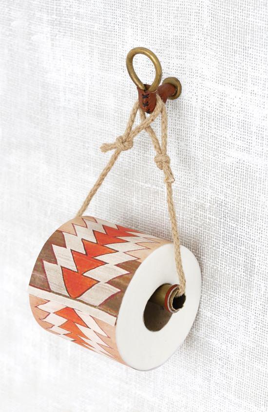 16. Gorgeous DIY Toilet Paper Holder