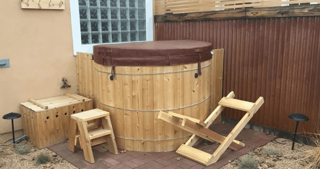 16. How To Build A Cedar Hot Tub